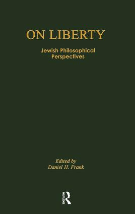 On Liberty: Jewish Philosophical Perspectives book cover