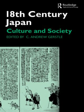 18th Century Japan: Culture and Society, 1st Edition (Paperback) book cover