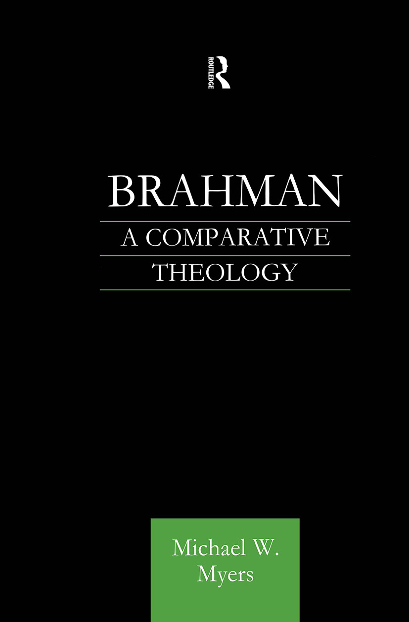 Brahman: A Comparative Theology, 1st Edition (Paperback) book cover