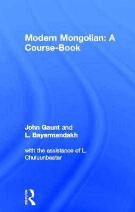 Modern Mongolian: A Course-Book book cover