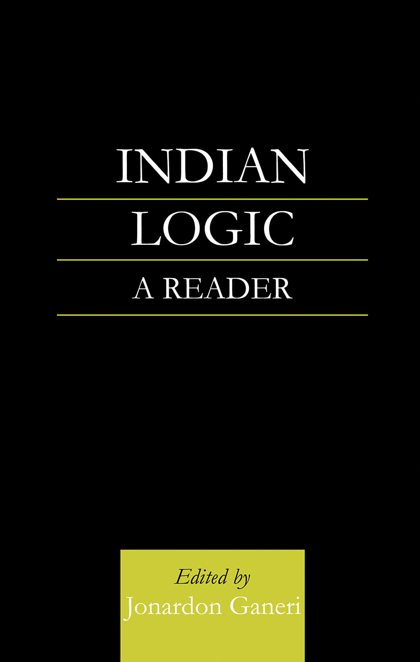 Indian Logic: A Reader, 1st Edition (Paperback) book cover