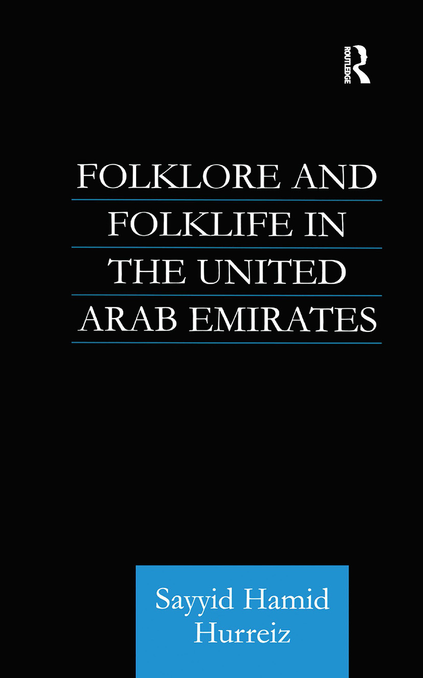 Folklore and Folklife in the United Arab Emirates book cover