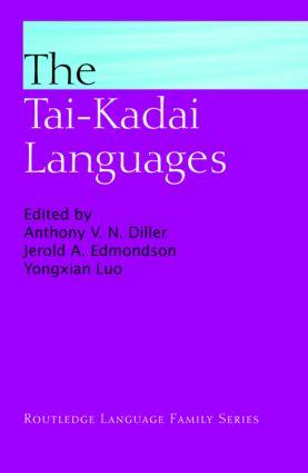 The Tai-Kadai Languages book cover