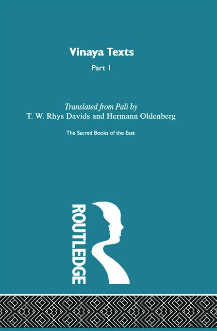 Vinaya Texts: 1st Edition (Hardback) book cover