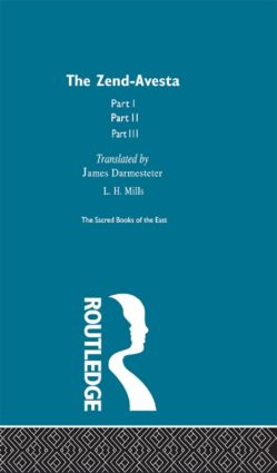 The Zend Avesta: 1st Edition (Hardback) book cover
