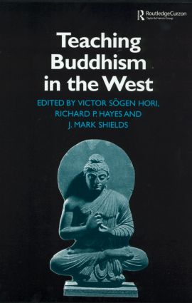 Teaching Buddhism in the West: From the Wheel to the Web book cover