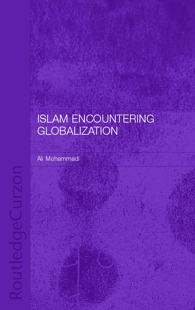 Islam Encountering Globalisation book cover