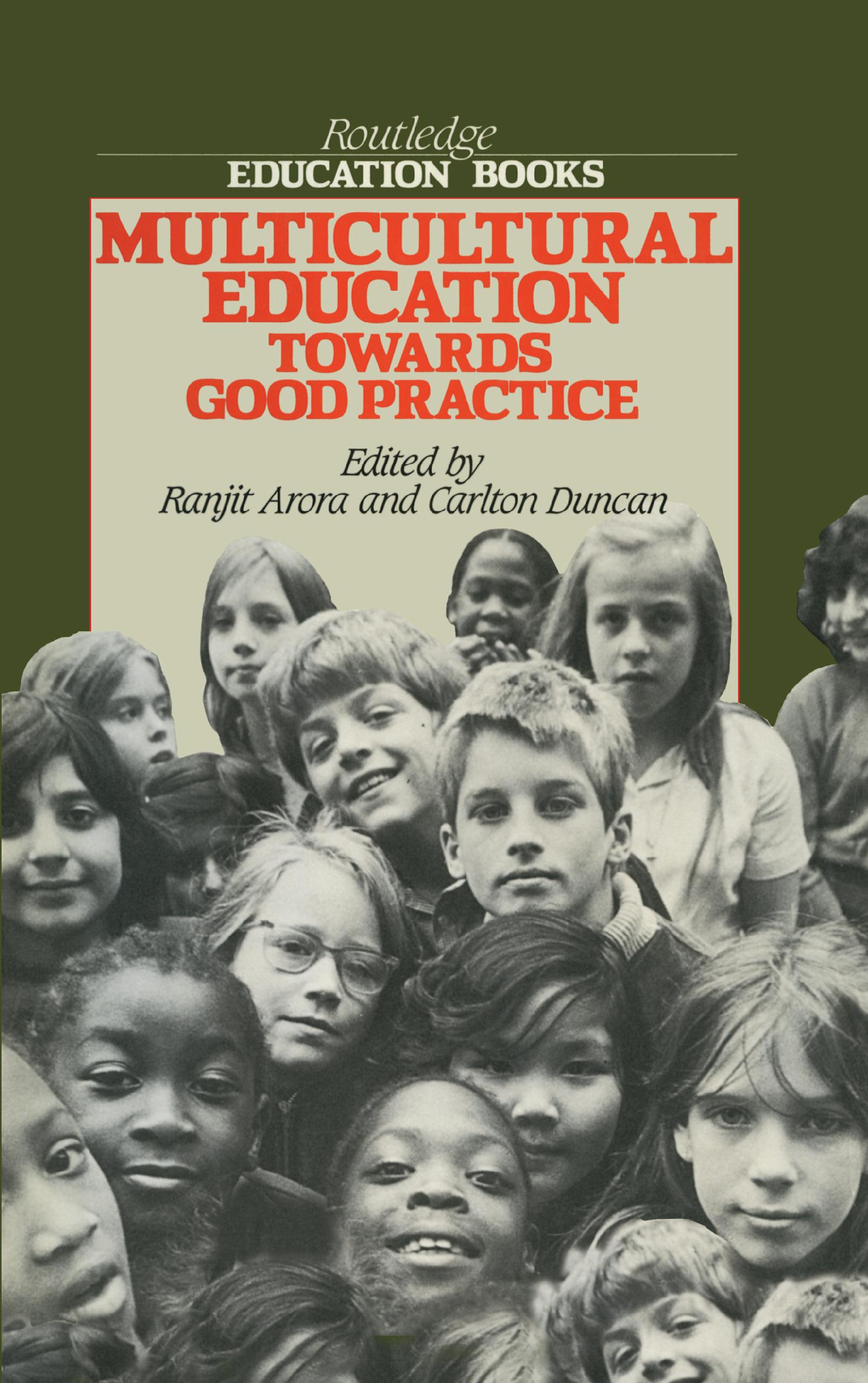 Multicultural Educ - Arora: 1st Edition (Hardback) book cover