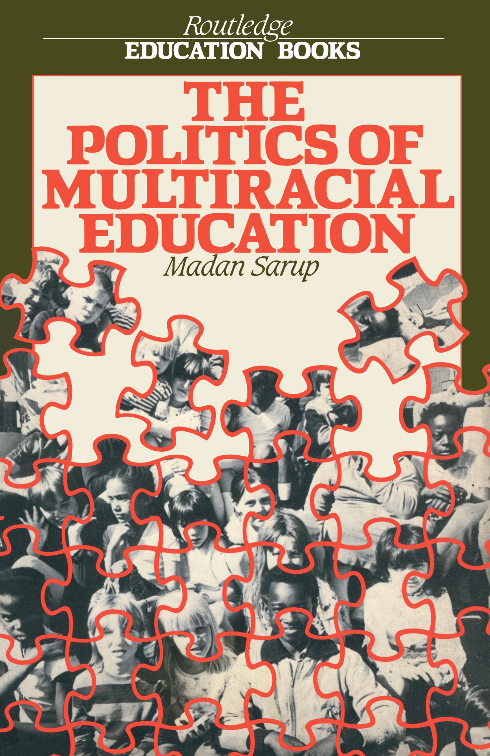 The Politics Of Multiracial Education (Paperback) book cover