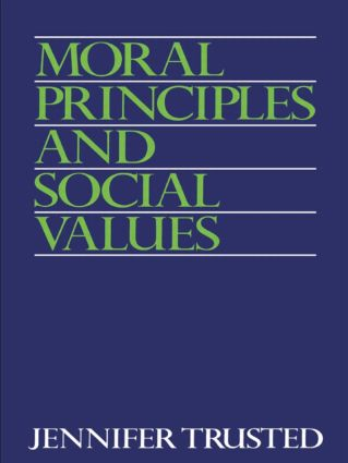 Moral Principles and Social Values