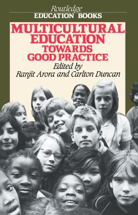 Multicultural Educ - Arora: 1st Edition (Paperback) book cover