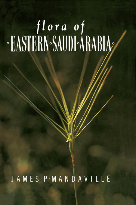 Flora Of Eastern Saudi Arabia: 1st Edition (Paperback) book cover