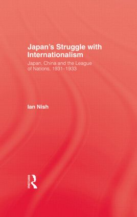 Japans Struggle With Internation (Hardback) book cover