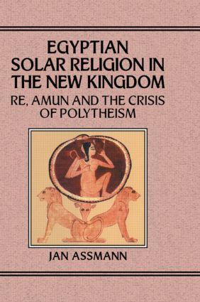 Egyptian Solar Religion: 1st Edition (Hardback) book cover