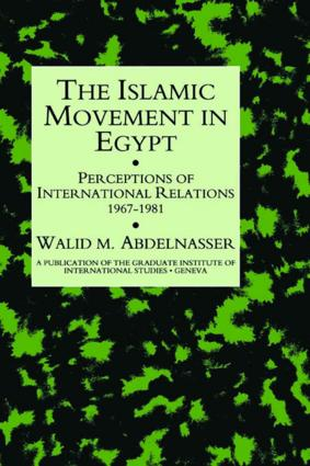 Islamic Movement In Egypt: 1st Edition (Hardback) book cover