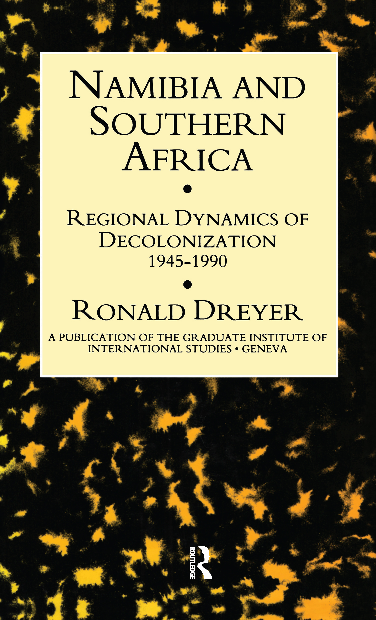 REGIONAL DYNAMICS OF NEGOTIATIONS. THE FRONTLINE STATES AND NAMIBIA. 1976-81
