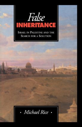 False Inheritance: 1st Edition (Paperback) book cover