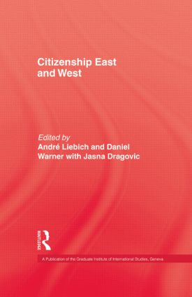 Citizenship East & West: 1st Edition (Paperback) book cover
