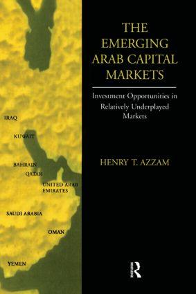 Emerging Arab Capital Markets: 1st Edition (Hardback) book cover