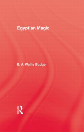 Egyptian Magic: 1st Edition (Paperback) book cover