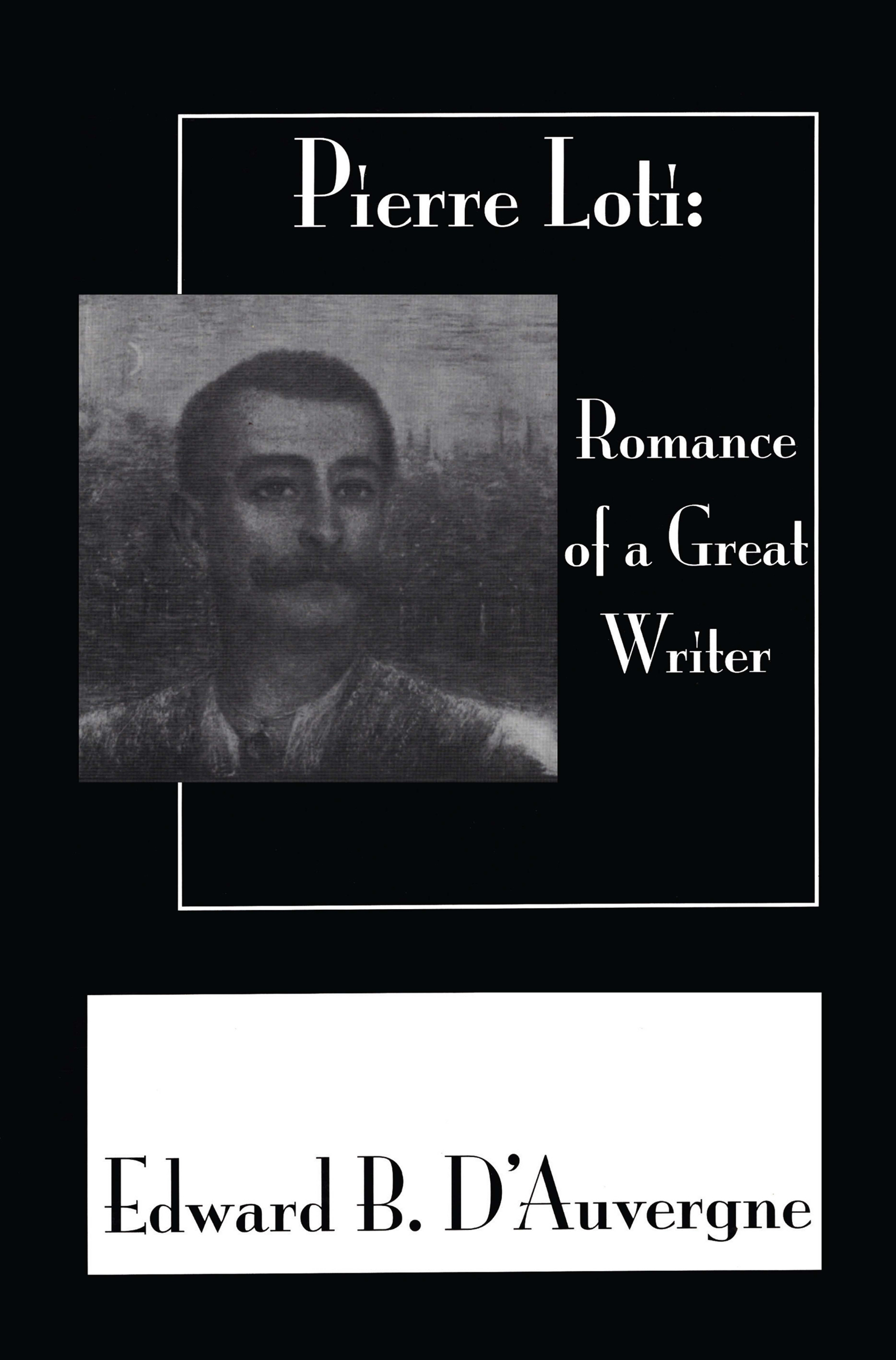 Romance Of A Great Writer book cover