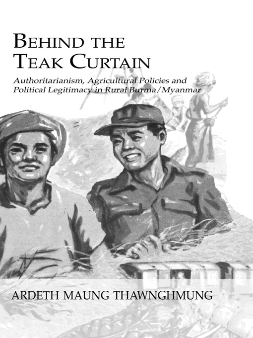 Behind The Teak Curtain: 1st Edition (Paperback) book cover