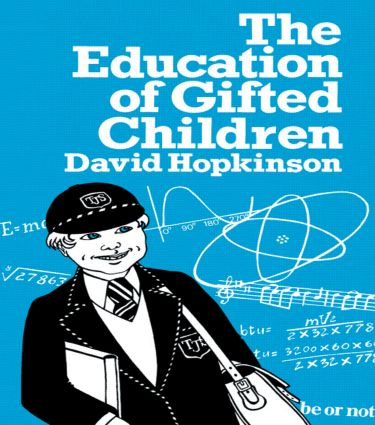 The Education of Gifted Children: 1st Edition (Paperback) book cover