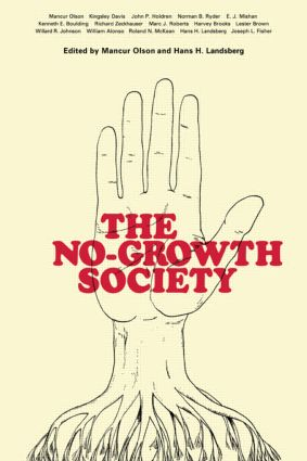 No Growth Society Pb: No Growth Society, 1st Edition (Paperback) book cover