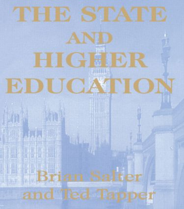 The State and Higher Education: State & Higher Educ., 1st Edition (Paperback) book cover