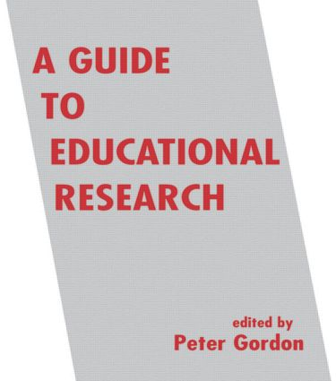 A Guide to Educational Research: 1st Edition (Paperback) book cover