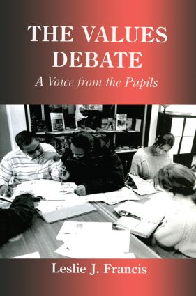 The Values Debate: A Voice from the Pupils book cover