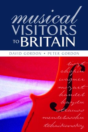Musical Visitors to Britain (Paperback) book cover