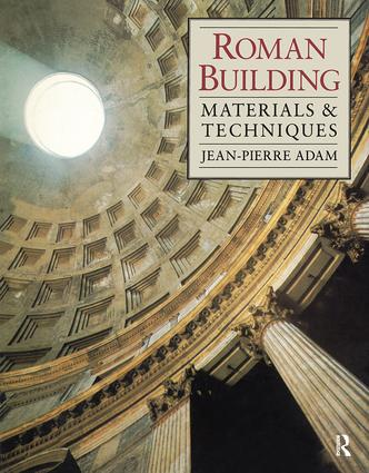 Roman Building: Materials and Techniques, 1st Edition (Hardback) book cover