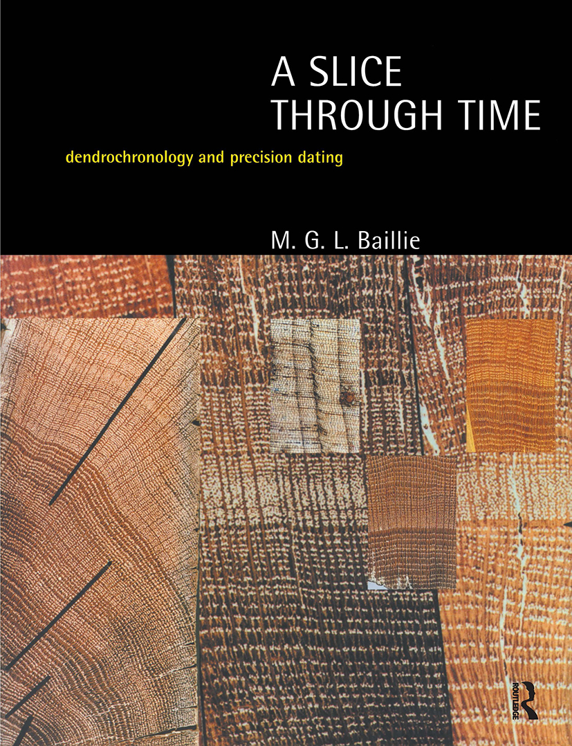 A Slice Through Time: Dendrochronology and Precision Dating, 1st Edition (Paperback) book cover