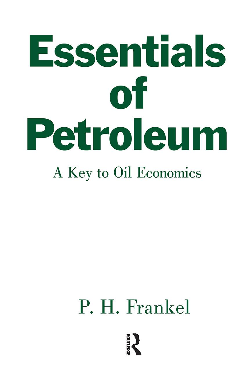Essentials of Petroleum: 1st Edition (Hardback) book cover