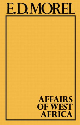 Affairs of West Africa: 1st Edition (Hardback) book cover