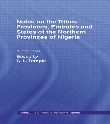 Notes of the Tribes, Emirates Cb: Notes on the Tribes, 1st Edition (Hardback) book cover