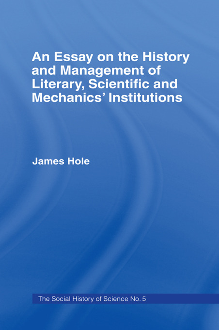 Essay on History and Management: Essay Hist Management, 1st Edition (Paperback) book cover