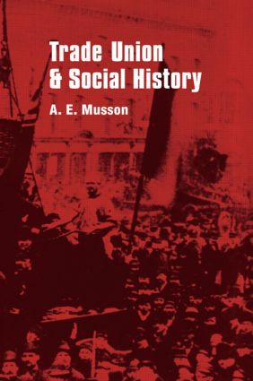 Trade Union and Social Studies: 1st Edition (Hardback) book cover