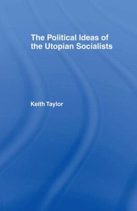 Political Ideas of the Utopian Socialists (Hardback) book cover