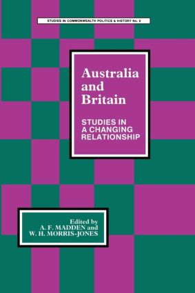 Australia and Britain: Studies in a Changing Relationship, 1st Edition (Paperback) book cover