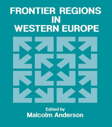 Frontier Regions in Western Europe: 1st Edition (Hardback) book cover