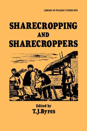 Sharecropping and Sharecroppers: 1st Edition (Paperback) book cover