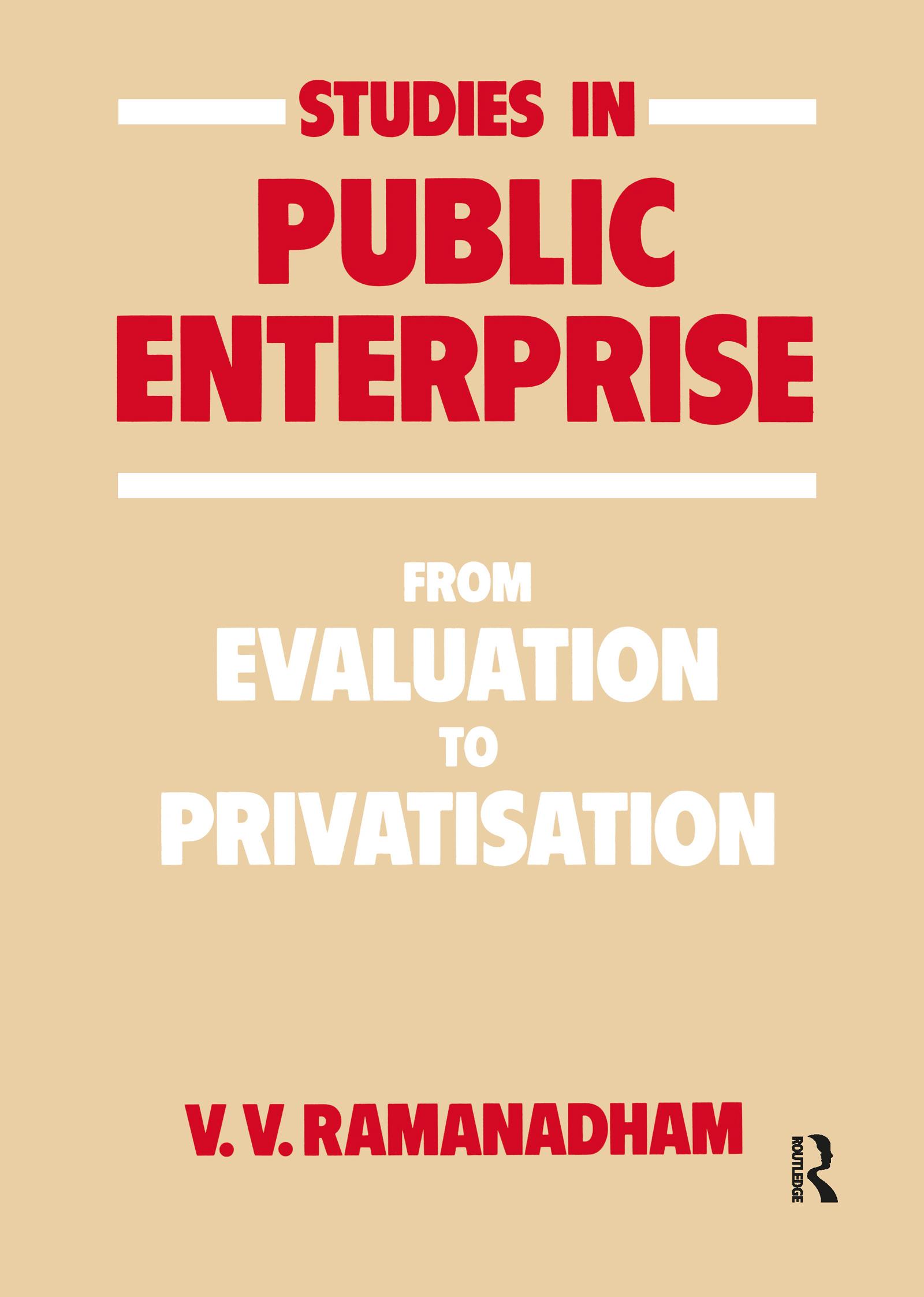 Studies in Public Enterprise