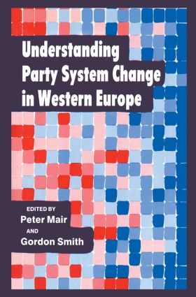 Understanding Party System Change in Western Europe (Paperback) book cover