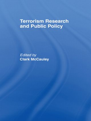 Terrorism Research and Public Policy: 1st Edition (Paperback) book cover