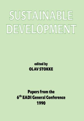 Sustainable Development: 1st Edition (Paperback) book cover