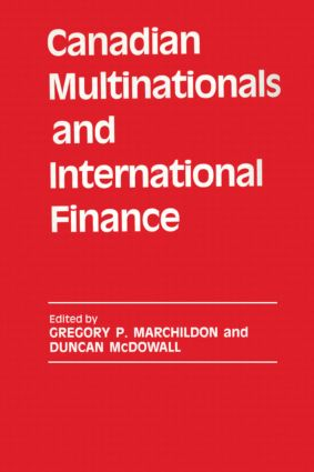 Canadian Multinationals and International Finance (Hardback) book cover