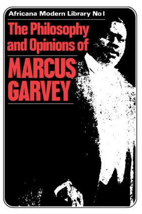 More Philosophy and Opinions of Marcus Garvey: 1st Edition (Paperback) book cover