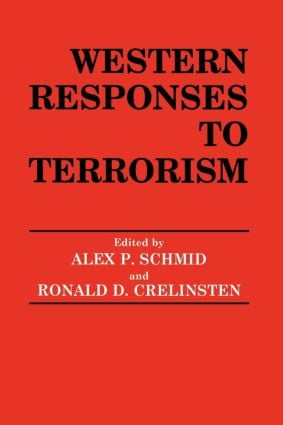 Western Responses to Terrorism: 1st Edition (Paperback) book cover